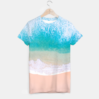 Thumbnail image of Ocean in Millennial Pink T-shirt, Live Heroes