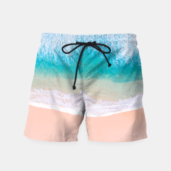 Thumbnail image of Ocean in Millennial Pink Swim Shorts, Live Heroes