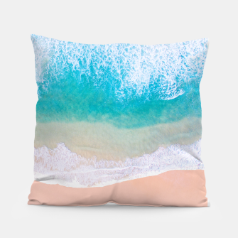 Thumbnail image of Ocean in Millennial Pink Pillow, Live Heroes