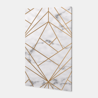 Thumbnail image of Geometric Gold Pattern on Marble Canvas, Live Heroes