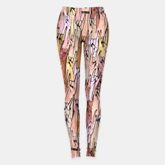 Thumbnail image of rock girls Leggings, Live Heroes