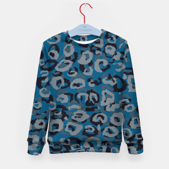 Thumbnail image of Blues Leopard Kid's Sweater, Live Heroes