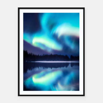 Thumbnail image of Aura Dream Framed poster, Live Heroes