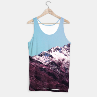 Miniatur Wanderlust Mountains Tank Top, Live Heroes