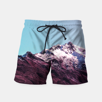Wanderlust Mountains Swim Shorts thumbnail image