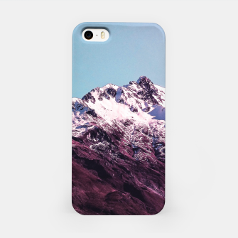 Thumbnail image of Wanderlust Mountains iPhone Case, Live Heroes