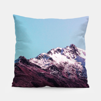 Wanderlust Mountains Pillow thumbnail image
