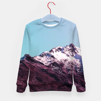 Wanderlust Mountains Kid's Sweater thumbnail image