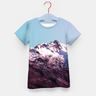 Wanderlust Mountains Kid's T-shirt thumbnail image