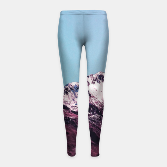 Wanderlust Mountains Girl's Leggings thumbnail image