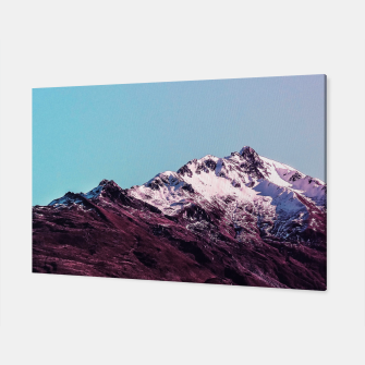 Wanderlust Mountains Canvas thumbnail image