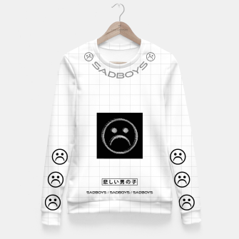 Thumbnail image of _sad_boys_ )x( Fitted Waist Sweater, Live Heroes
