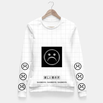 Thumbnail image of _sad_boys_ x Fitted Waist Sweater, Live Heroes