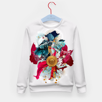 Thumbnail image of Carpe mortem Kid's Sweater, Live Heroes