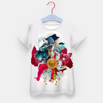 Thumbnail image of Carpe mortem Kid's T-shirt, Live Heroes