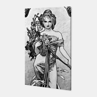 Thumbnail image of Alphonse Mucha Broken Blossoms Canvas, Live Heroes