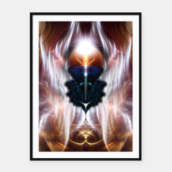 Thumbnail image of The Heart Of Arkus Framed poster, Live Heroes
