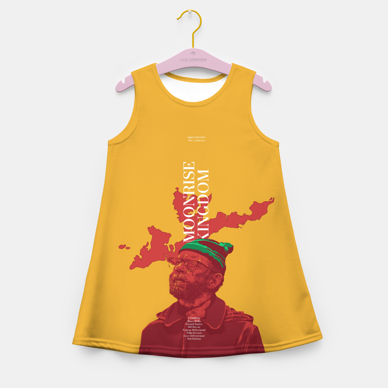 Image of Moonrise Kingdom Girl's Summer Dress - Live Heroes