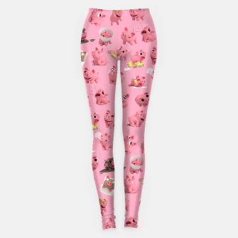 Rosa the Pig Pattern Leggings thumbnail image