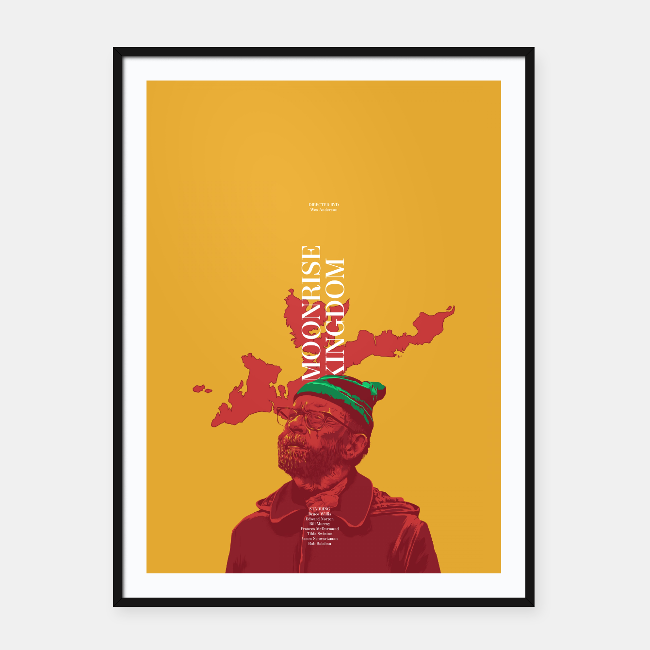 Image of Moonrise Kingdom Framed poster - Live Heroes