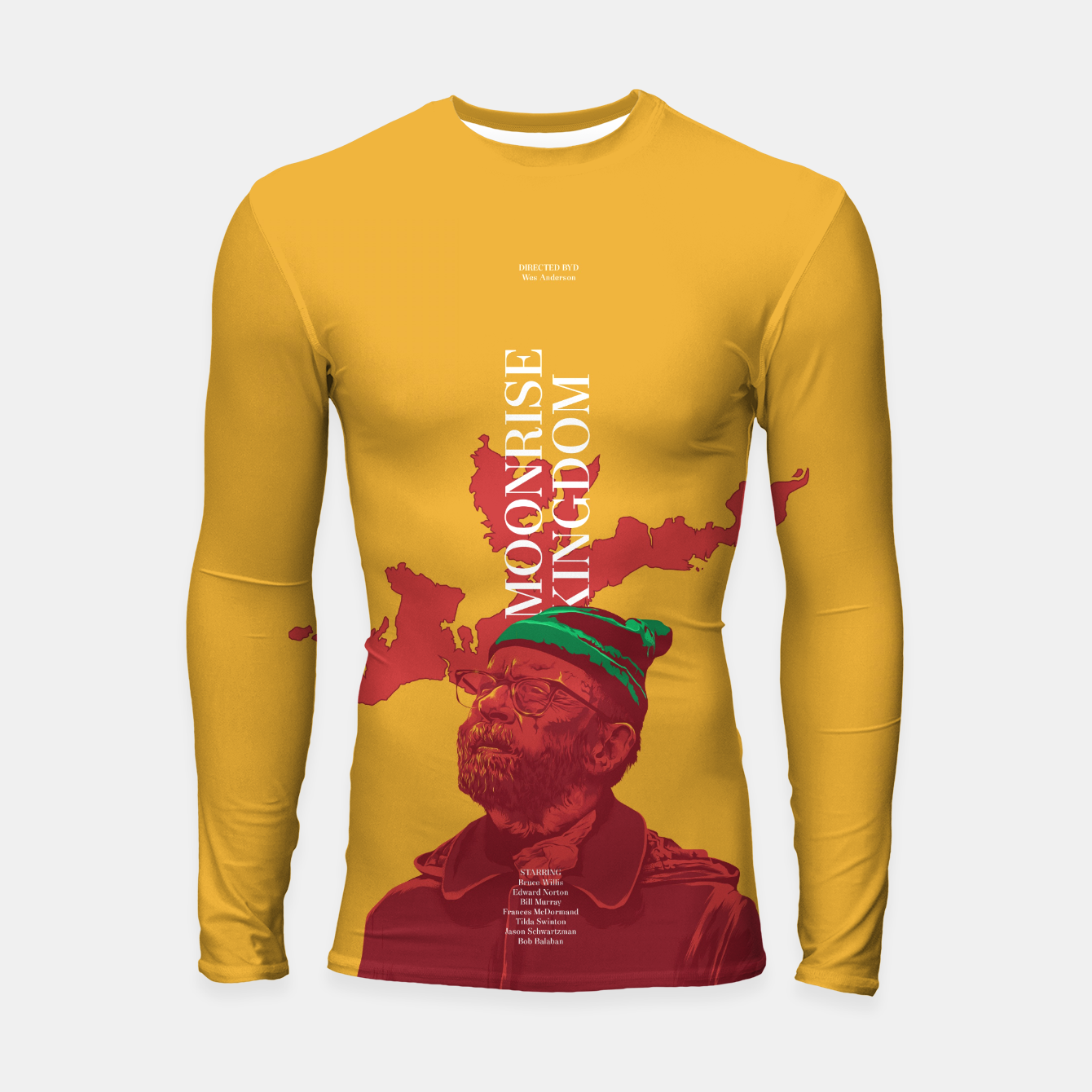 Image of Moonrise Kingdom Longsleeve Rashguard  - Live Heroes