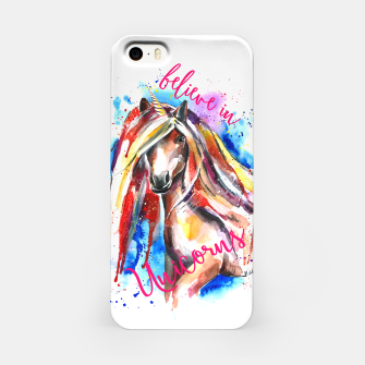 Thumbnail image of believe in unicorns iPhone Case, Live Heroes