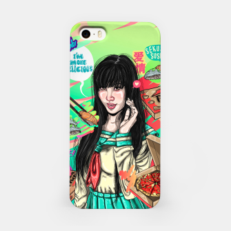 Thumbnail image of Canton Pizza Girl Carcasa por Iphone, Live Heroes