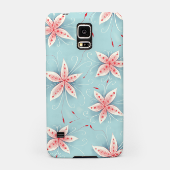 Thumbnail image of Beautiful White Red Flowers Samsung Case, Live Heroes