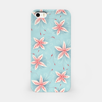 Thumbnail image of Beautiful White Red Flowers iPhone Case, Live Heroes