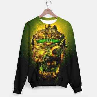 Thumbnail image of Haunted Skull II Sweater, Live Heroes