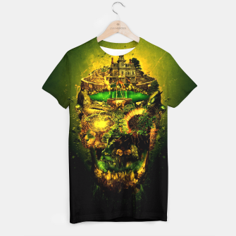 Thumbnail image of Haunted Skull II T-shirt, Live Heroes