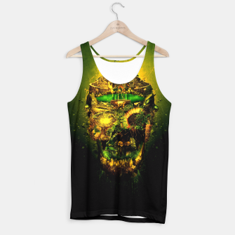 Thumbnail image of Haunted Skull II Tank Top, Live Heroes