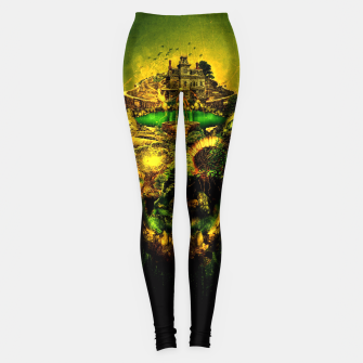 Thumbnail image of Haunted Skull II Leggings, Live Heroes