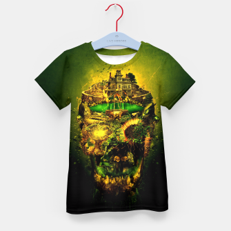 Thumbnail image of Haunted Skull II Kid's T-shirt, Live Heroes