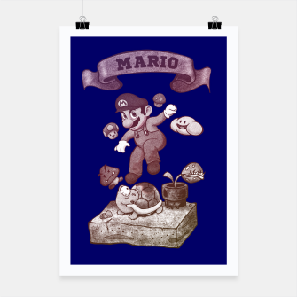 Miniaturka Mario Poster, Live Heroes
