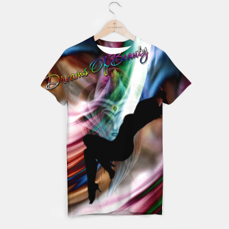 Thumbnail image of Dreams Of Beauty T-shirt, Live Heroes