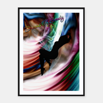Thumbnail image of Dreams Of Beauty Framed poster, Live Heroes