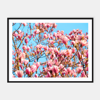Thumbnail image of Magnolia by #Bizzartino Framed poster, Live Heroes