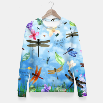 Miniature de image de There be Dragons Fitted Waist Sweater, Live Heroes