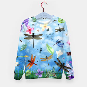 Miniature de image de There be Dragons Kid's Sweater, Live Heroes
