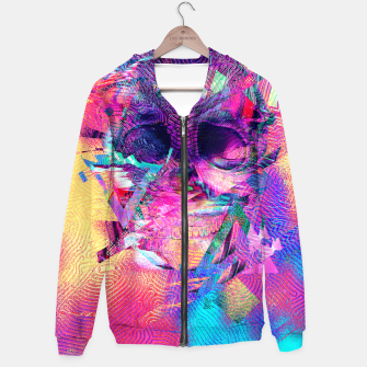 Thumbnail image of Skull Digital Art Hoodie, Live Heroes