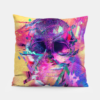 Miniaturka Skull Digital Art Pillow, Live Heroes
