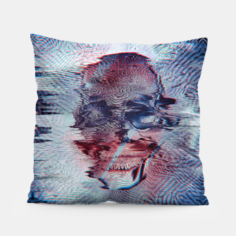 Terminator glitch Pillow miniature
