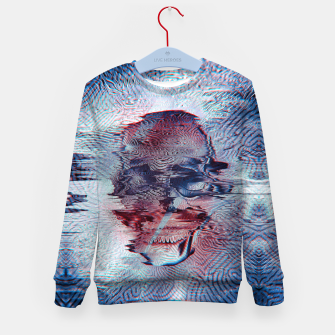 Terminator glitch Kid's Sweater miniature