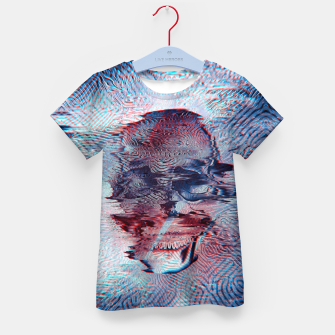 Terminator glitch Kid's T-shirt miniature