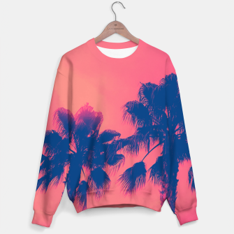 Thumbnail image of Sunset Palmtrees Sweater, Live Heroes