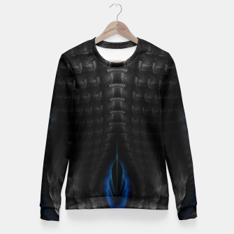 Thumbnail image of Warrior Of Darkness GS Fitted Waist Sweater, Live Heroes