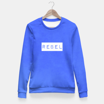 Thumbnail image of Rebel Fitted Waist Sweater, Live Heroes