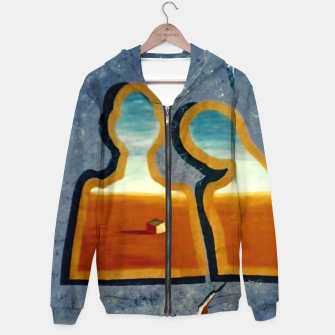 Thumbnail image of no distance Hoodie, Live Heroes