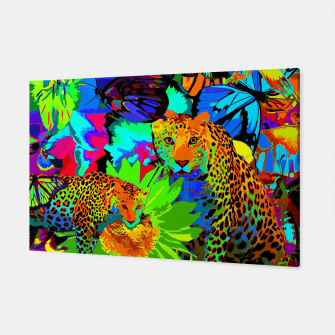 Thumbnail image of Pop Art Nature Canvas, Live Heroes